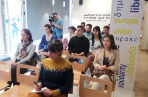 Info sesija u Nišu o Javnom pozivu za predloge projekata srednjih škola