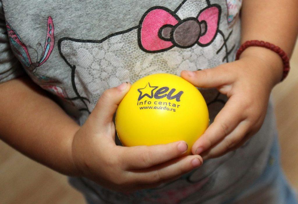 Kreativna radionica za decu – Zdravlje na usta ulazi EU info kutak