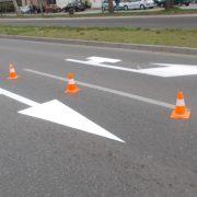 jkp Niš Obeležavanje horizontalne signalizacije u ulicama Branka Miljkovića i Dragiše Cvetkovića