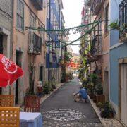 zelena ulica lisabon